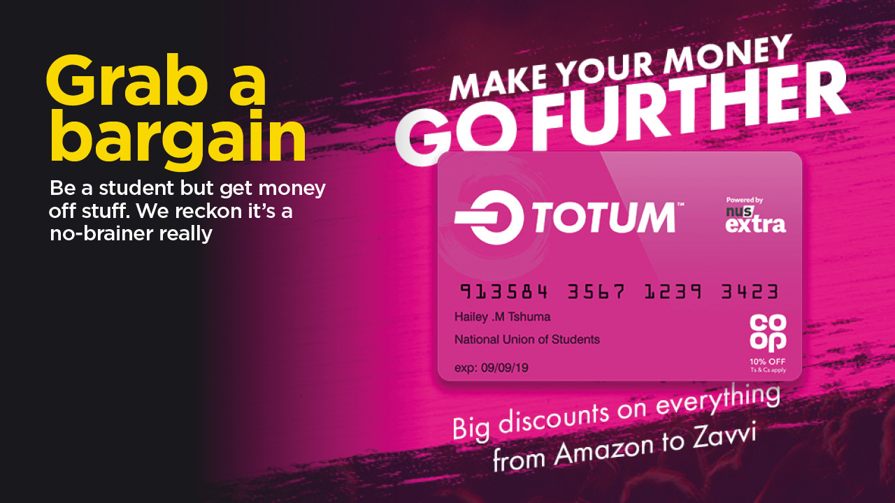 Totum – the new NUS Extra card