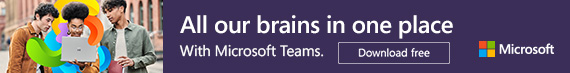 All our brains in one place. Microsoft Teams