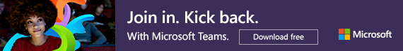 Join in. Kick back. Microsoft Teams