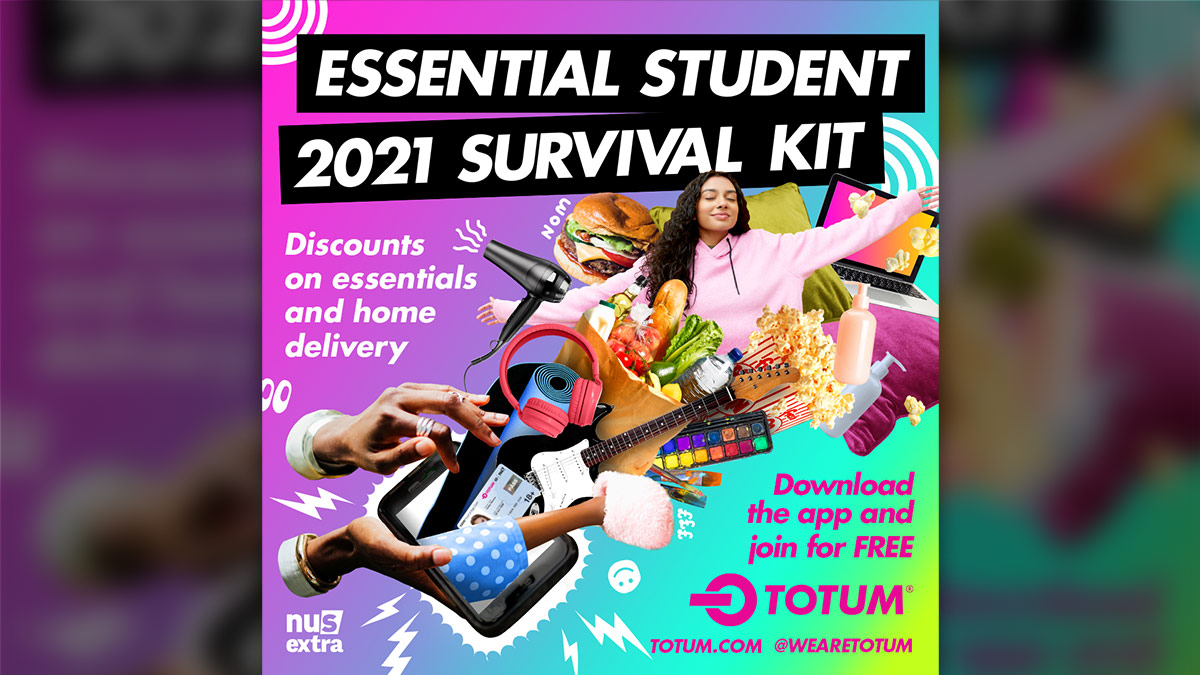 TOTUM student card - discounts and more