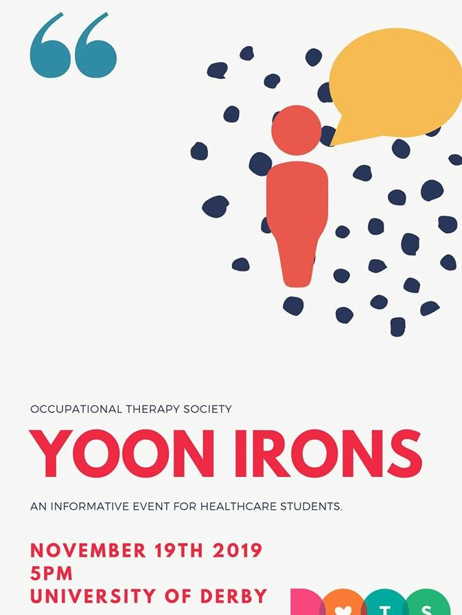 *Guest Speaker* - Yoon Irons: Researcher, Music Therapist, Arts for health and wellbeing.