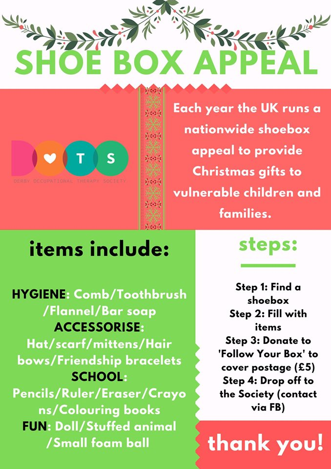 Occupational Therapy - Shoebox Appeal