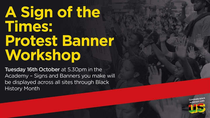 A Sign of the Times: Protest Banner Workshop
