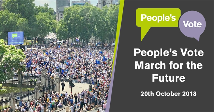 People's Vote March for the Future
