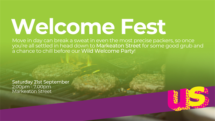 Welcome Fest at Markeaton Street