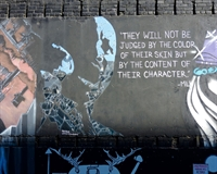 Martin Luther King JR. Wall art
