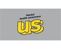 Grey background with words Mental health awareness in black text with Union logo in yellow