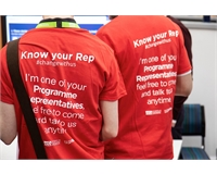 Know your Rep red tshirts