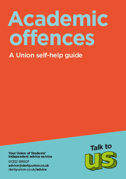 Academic Offences Leaflet Cover