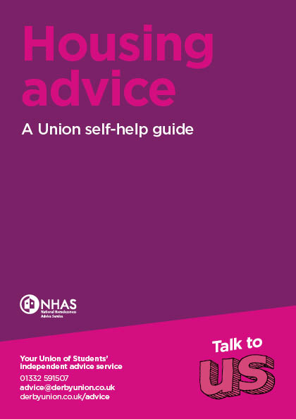 Housing Advice Leaflet Cover