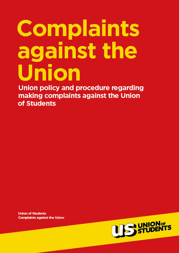 Complaints against the Union cover
